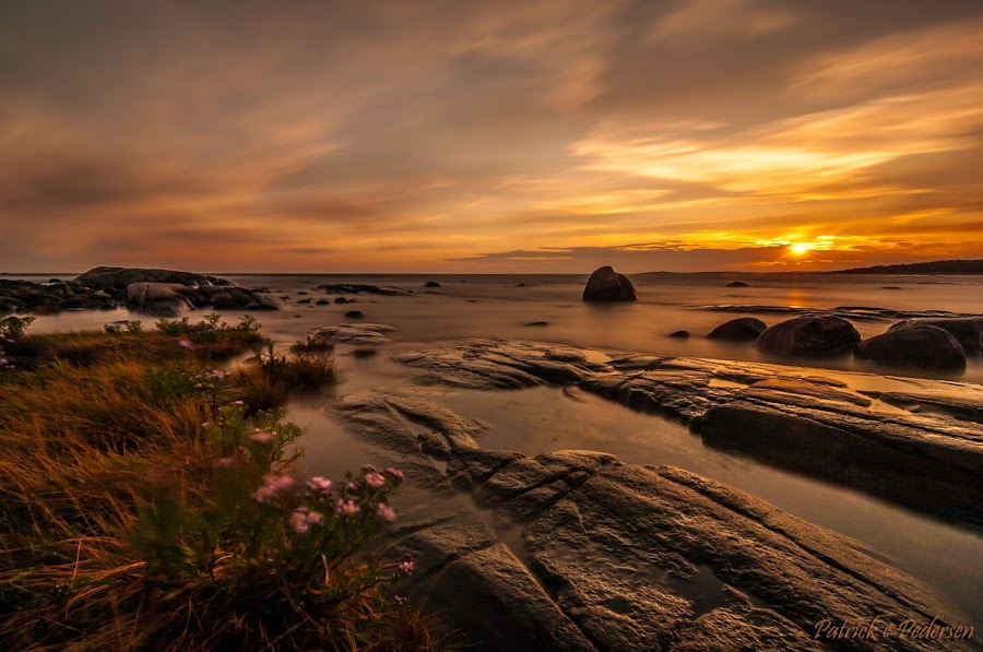 Elements by Patrick Pedersen - Landscapes Waterscapes ( water, sky, waterscape, sunset, colors, seascape, landscape, elements )