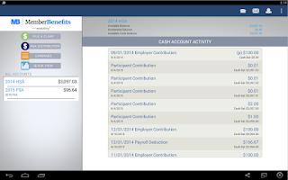 Screenshot of Member Benefits