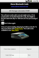 Screenshot of UK Postage Calculator