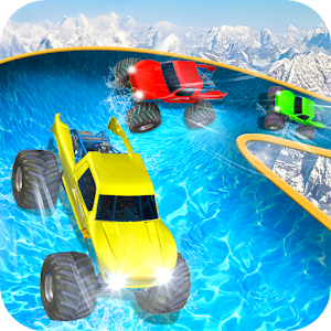 Water Slide Monster Truck Race For PC (Windows & MAC)