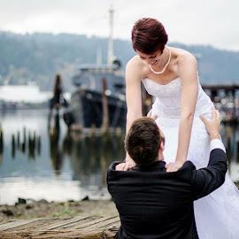 by Jessica Ann - Wedding Bride & Groom