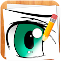 App How to Draw Anime Eyes version 2015 APK