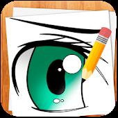 Wie Anime Augen zeichnen