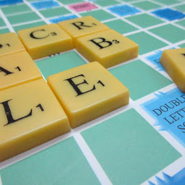 SCRA_BLE....B by Shubh Pallav - Artistic Objects Toys ( scrabble, board game, game )