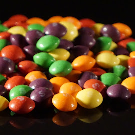 by Chris Stallwood - Food & Drink Candy & Dessert ( treats, sweet, sweets, skittles, candy, confectionery, treat )