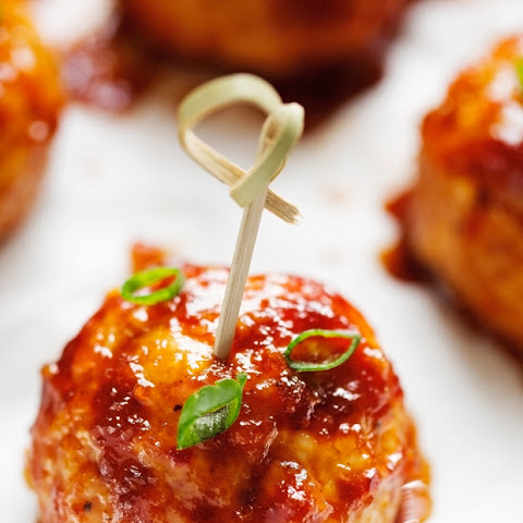 Hawaiian BBQ Chicken Meatballs
