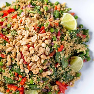 Warm Thai Peanut-Quinoa Salad