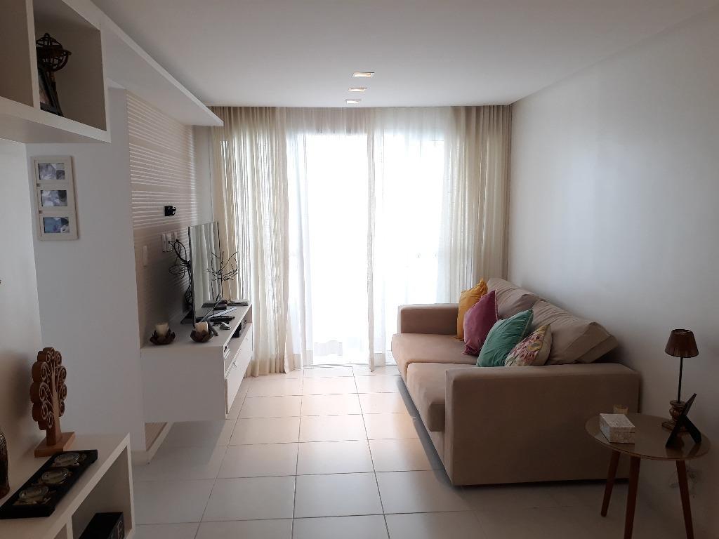 Apartamento à venda, 3 quartos 2 suítes no Caminho das Árvor...