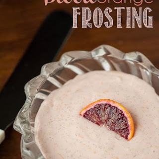 Blood Orange Frosting