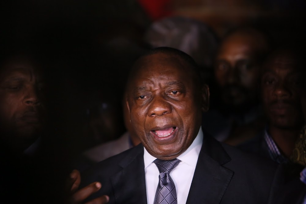 Mahikeng protests suspended as Ramaphosa expected