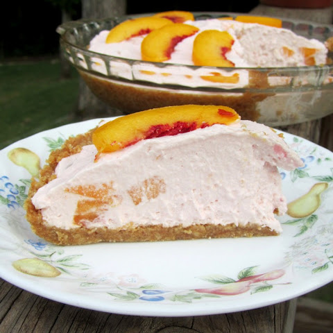 Peach Greek Yogurt Pie & Chobani Giveaway
