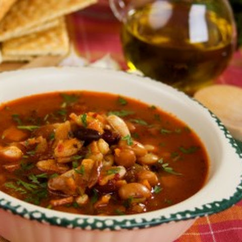 Barley & Vegetable Bean Soup