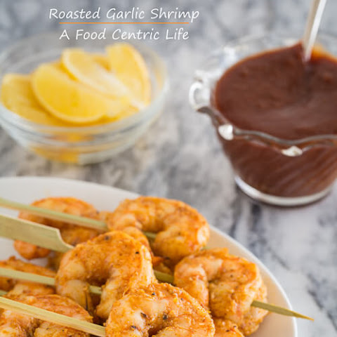 Roasted Garlic Shrimp