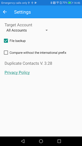 Duplicate Contacts screenshot 6