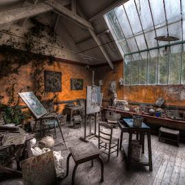L'atelier du peintre by Tonino De Rubeis - Buildings & Architecture Other Interior