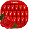 App Red Rose Keyboard apk for kindle fire