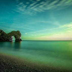 Durdles Door by Neil Hannam - Landscapes Beaches