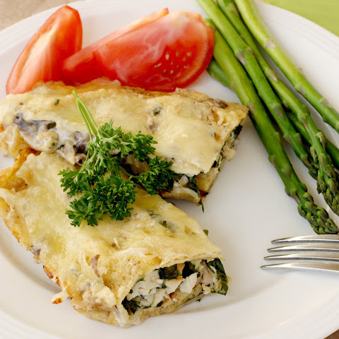 Swiss Chicken Crepes with Spinach (…Gluten Free version included)