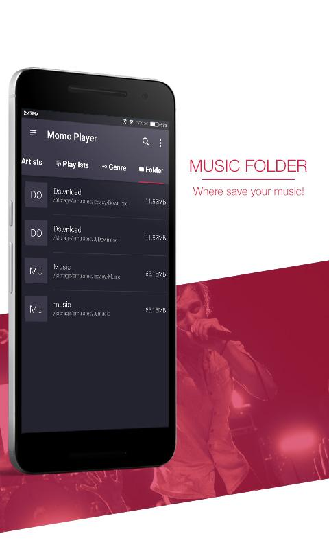 Momo Music Player Screenshot 15