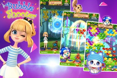 Bubble Shooter Deluxe Screenshot 1