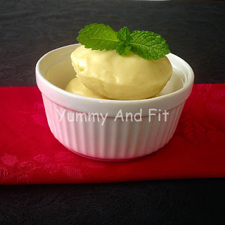 Pineapple Coconut Dairy Free Ice cream