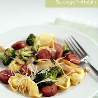 Roasted Broccoli & Sausage Tortellini