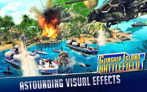 GUNSHIP ISLAND BATTLEFIELD- screenshot thumbnail