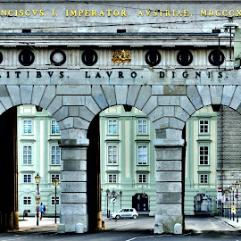 Hofburg Palace by Gary Ambessi - Buildings & Architecture Public & Historical