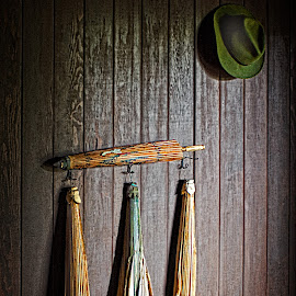 Rain Gear 2 by Joseph Vittek - Artistic Objects Clothing & Accessories ( kona, may, uchida, society, 2015, coffee, historical society, 1925, farm, mill, december, residence, tenant, greenwood, historical )