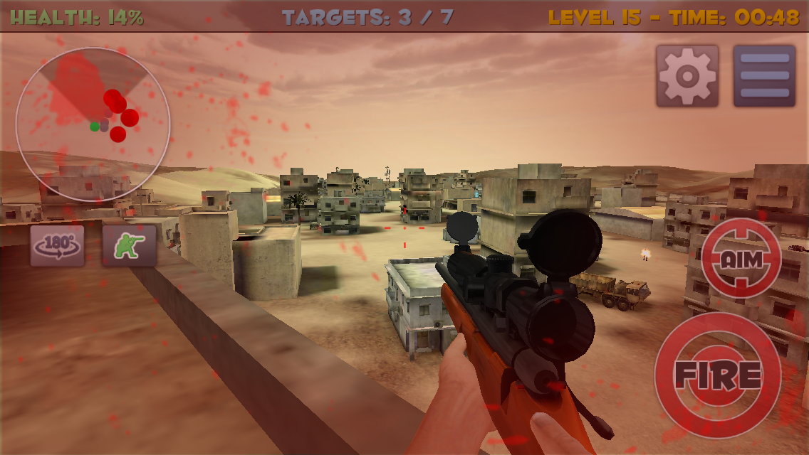 Sniper Commando Assassin 3D Screenshot 2