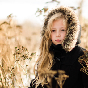 Liu by Kristina Nutautiene - Babies & Children Child Portraits ( autumn colours, grass, autumn colors, autumn, portrait )