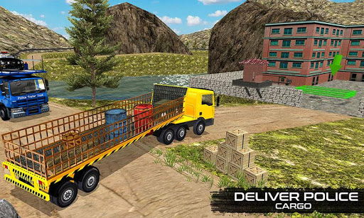 OffRoad Police Transport Truck For PC
