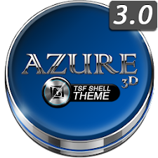 TSF Shell Launcher Theme Azure