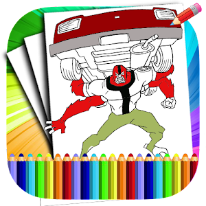 Coloring pages for ban 10 fans  Free Online Games Online Play