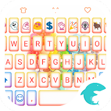 Rainbow Heart Keyboard Emoji