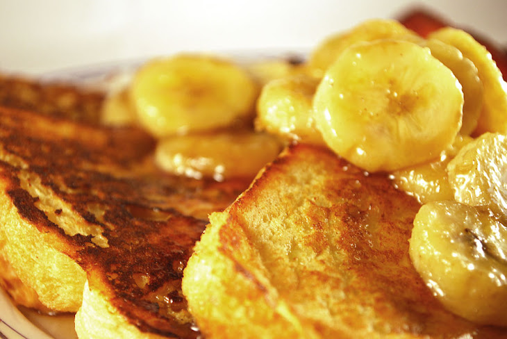 Bananas Foster French Toast Recipe | Yummly