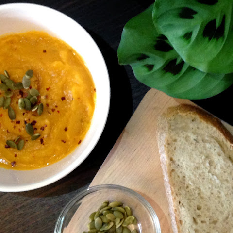 The Easiest Butternut Squash Soup