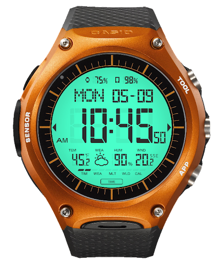 S03 WatchFace for Android Wear - screenshot