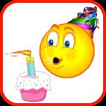 Birthday Fun Stickers Icon