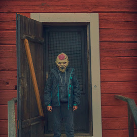 Zombieboy by Marcus Schanberg - People Portraits of Men ( zombieboy, zombie, walking dead, zombi, livingdead, walkingdead, walkers, zombie walk )