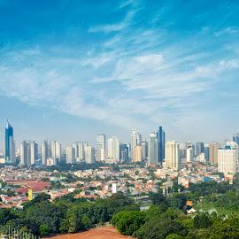Jak City by Studio Seru - City,  Street & Park  Skylines ( indonesia, jakarta, cityscape, city )