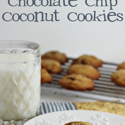 Chocolate Chip Coconut Cookies (with Coconut Oil)