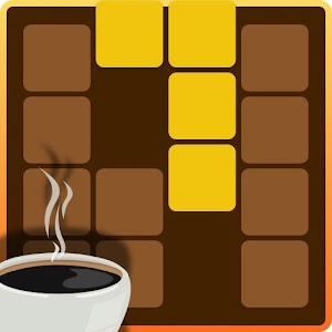 ~ Puzzle that fits coffee ~ Chocolate & Puzzle