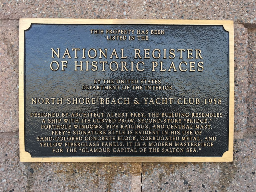Submitted by @jqmcd THIS PROPERTY HAS BEEN LISTED IN THE NATIONAL REGISTER OF HISTORIC PLACES BY THE UNITED STATES DEPARTMENT OF THE INTERIOR NORTH SHORE BEACH & YACHT CLUB 1958 DESIGNED BY ARCHITECT ...