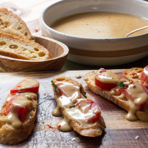 Welsh Rarebit Crostini
