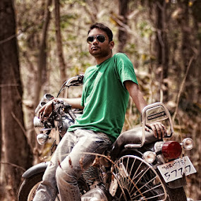 Jungle Thunder by Fotosutra - a PRASANTA SINGHA photography - Transportation Motorcycles