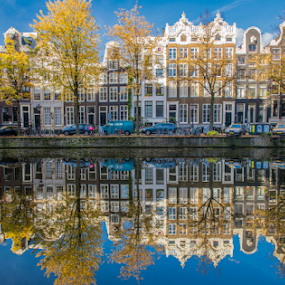 Keizersgracht  by Benjamin Arthur - Buildings & Architecture Homes ( capital cities, holland, amsterdam photographer, dutch, nederlandse fotograaf )