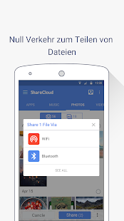 ShareCloud (Share Apps) Capture d'écran