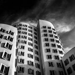 by Babor Ali Khan - Black & White Buildings & Architecture
