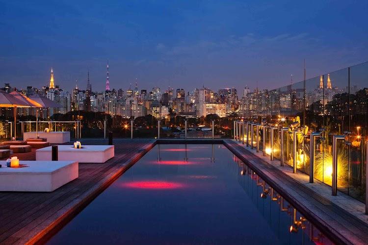 Skye Bar, Sao Paulo, Brazil